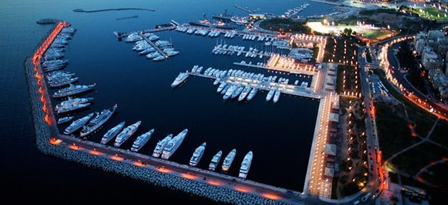 marina of flisvos in athens